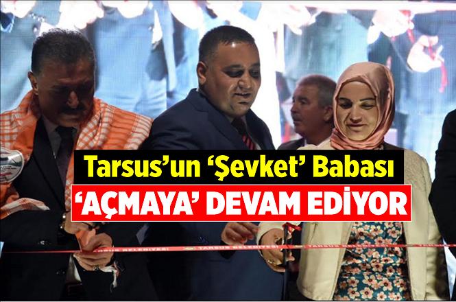 Tarsus Bahşiş Mahallesi Mehmet Sarı Sosyal Tesisleri Törenle Hizmete Açıldı