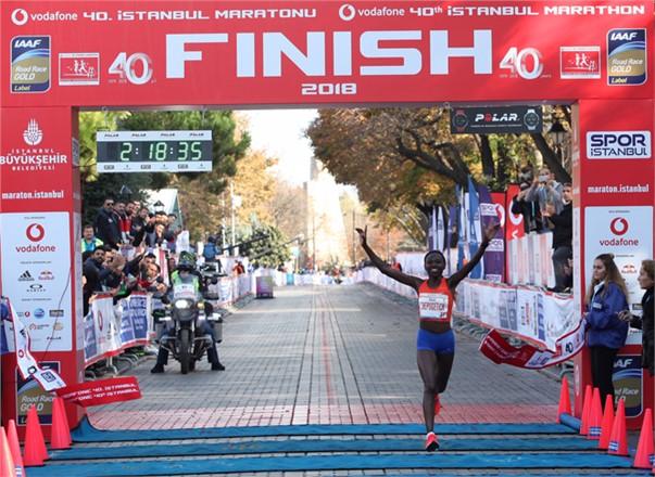 Vodafone 40. İstanbul Maratonu'nda Bağış Rekoru Kırıldı
