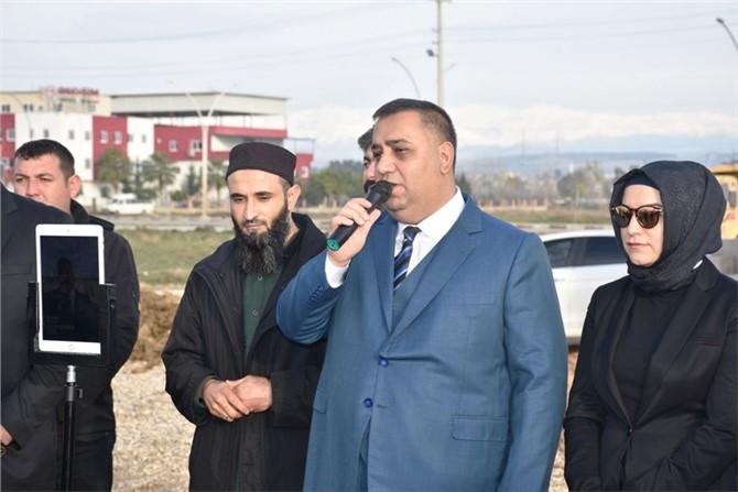 Tarsus Belediyesi Tarafından Toplu Konut Projesinde İlk Kazma Vuruldu