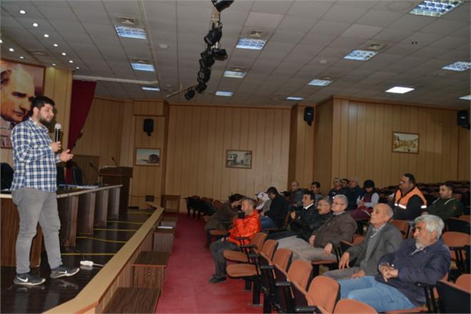 Akdeniz Belediyesi'nden Personele İş Güvenliği Eğitimi
