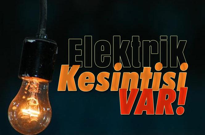 """Mersin'de 27 Aralık Perşembe Günü Elektrik Kesintisi Yapılacak Yerler, """"Elektrik Kesintisi"""""""