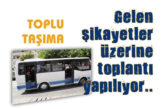 """Mersin'de Yapılacak Toplantıda """"Toplu Taşıma Sektörü"""" Ele Alınacak"""