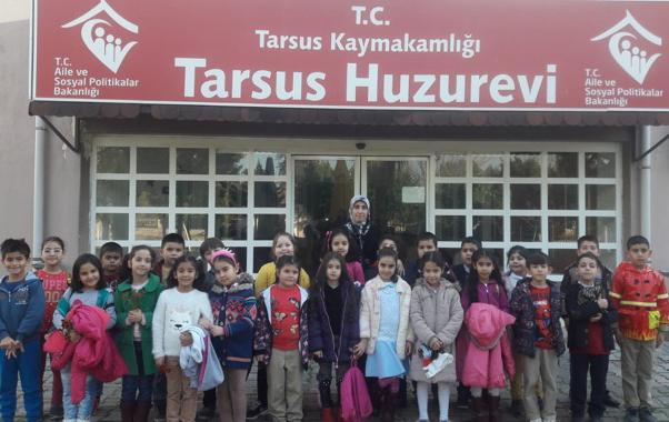 Tarsus Beydeği̇rmeni̇ İlkokulu'ndan Huzurevine Ziyaret
