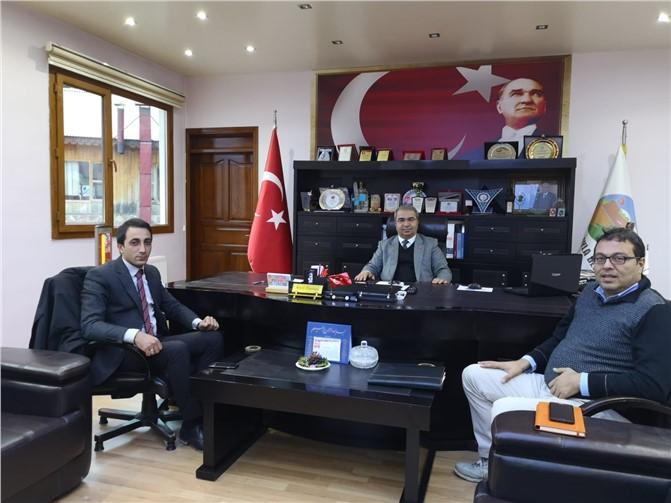 İBT Medya'dan Çamlıyayla belediye Başkanı'na ziyaret