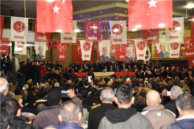 Huzurkent'teki Toplantıda, Hamit Tuna İçin Gelenlere Salon Yetmedi