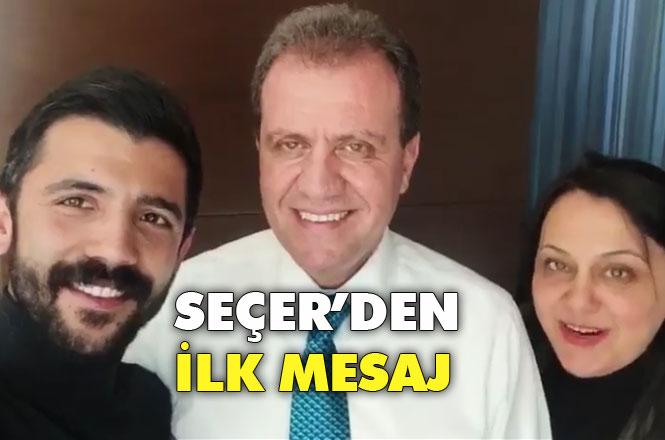 CHP Mersin Büyükşehir Belediye Başkan Adayı Vahap Seçer'den İlk Mesaj