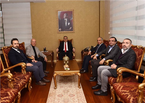 Vali Su, Ulusal Turunçgil Kongresi Yönetim Kurulu Üyelerini Kabul Etti