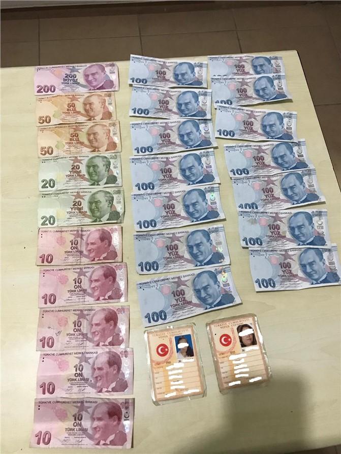 Mersin'de Yılbaşı Günü Sahte Para Dağıtanlara Polis'ten Operasyon
