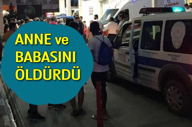 Mersin Erdmeli'de Anne ve Babasını Öldüren Adam Yakalandı