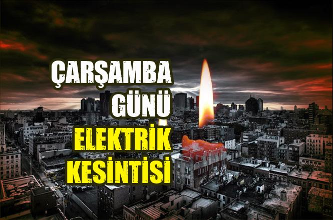 Mersin Elektrik Kesintisi: Çarşamba Günü 9 Ocak