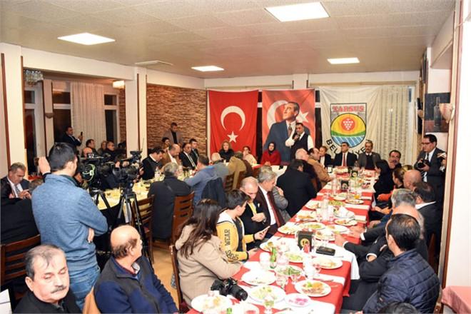 Tarsus Belediye Başkanı Şevket Can, 10 Ocak Münasebetiyle Gazetecilerle Bir Araya Geldi
