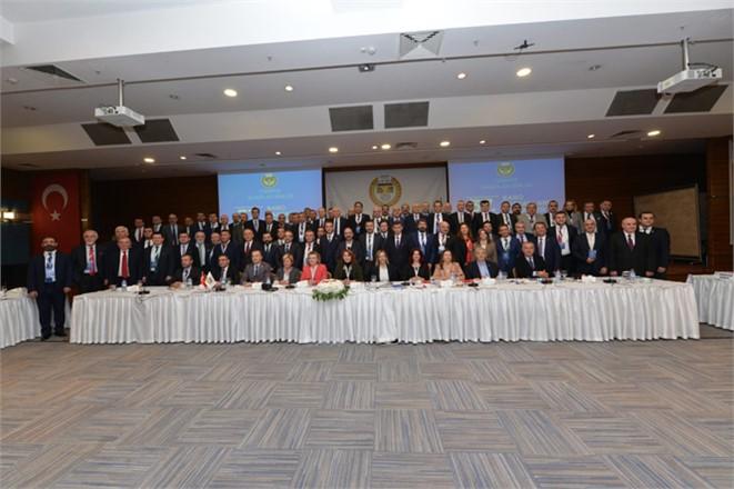 37. Baro Başkanları Toplantısı Mersin Baro Başkanı Yeşilboğaz'ın Katılımıyla Yapıldı!