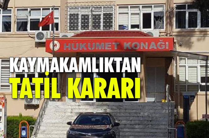 Mersin Gülnar'da MEB'e Bağlı Okullar, Kaymakamlık Kararıyla 15 Ocak Salı Günü (1 Günlüğüne) Tatil Edildi