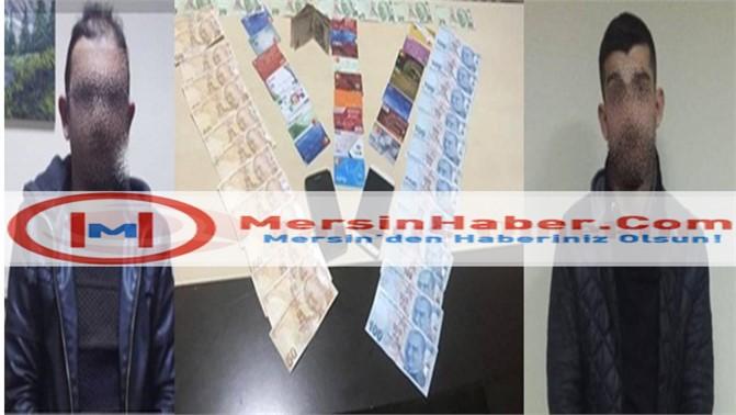 Mersin Tarsus'ta kredi kartı dolandırıcıları ATM'de yakalandı
