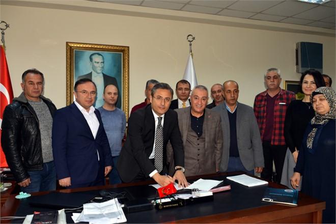 Mersin Akdeniz Belediyesi İle Genel-iş Arasında Toplu Sözleşme