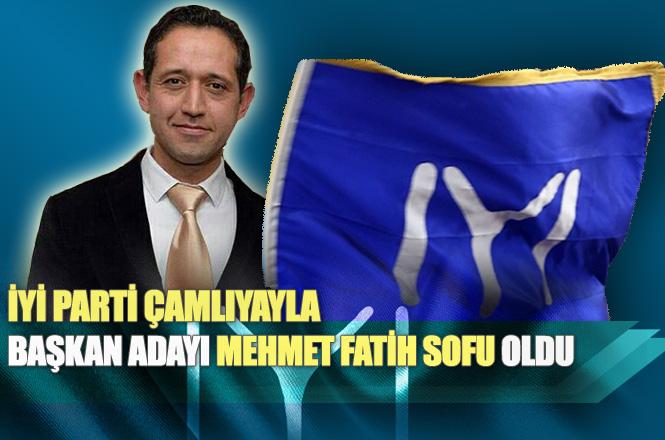 Çamlıyayla İYİ Parti Belediye Başkan Adayı Eğitimci Mehmet Fatih Sofu Oldu