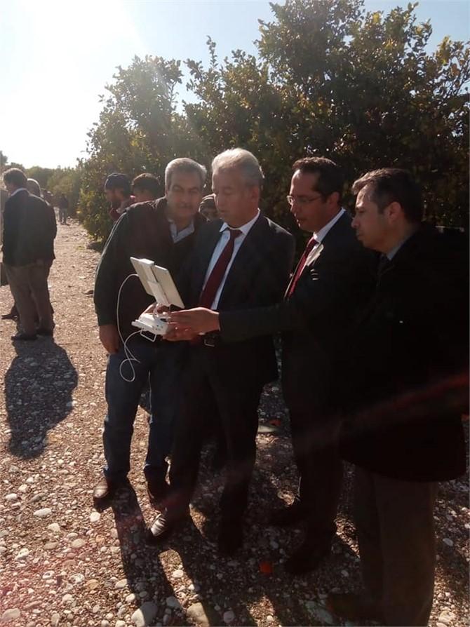 Mersin Erdemli'de 700 Dönümlük Alandaki Heyelanın Tespit Çalışmaları Yapıldı
