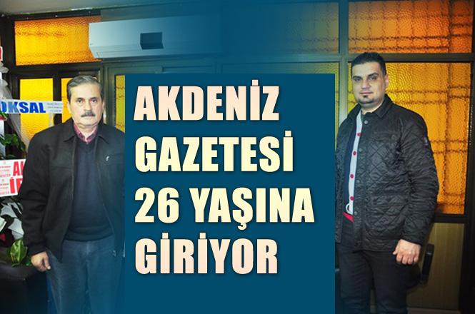 Tarsus Akdeniz Gazetesi 26. Yaşına, Yeni Yönetim Ofisinde Giriyor