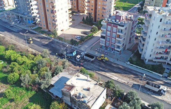 Mersin Mezitli Yaşar Doğu Caddesi'nde Ulaşım Artık Daha Kolay