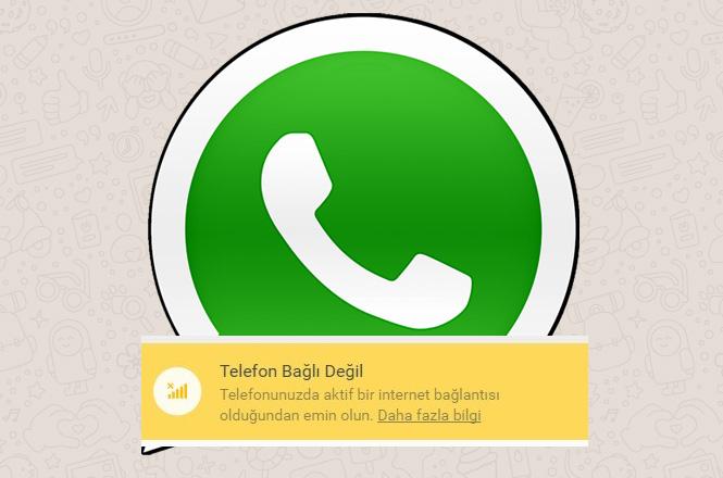Whatsapp Telefon Bağlı Değil Sorunu Saat 21.30 İtibariyle Çözüldü, Yaşanan Sorundan Milyonlarca Kullanıcı Etkilendi