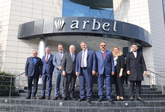 Kanada Tarım Bakanı Yardımcısı Fred Gorrel'den, Mersin'in Global Markası Arbel A.Ş Ziyaret