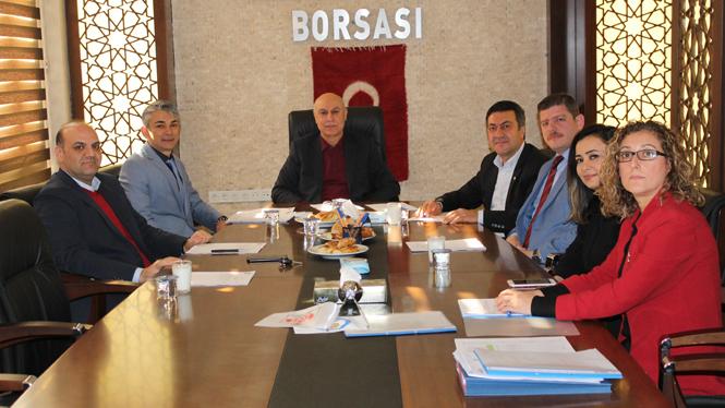 Tarsus Ticaret Borsası Akreditasyon İzleme Komitesi ve Yönetimin Gözden Geçirme Toplantısı Gerçekleştirildi