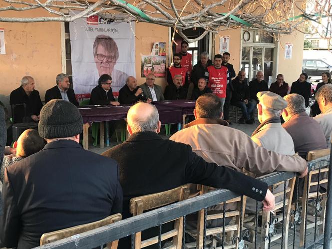 CHP Tarsus Belediye Başkan A.Adayı Op.Dr. Vedat Günyar, Çiçekli Mahallesinde İlgiyle Karşılandı