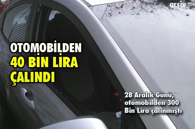 Mersin Tarsus'ta Otomobilden 40 Bin lira Çalındı, 28 Aralık'ta Benzer Bir Olayda 300 Bin Lira Çalınmıştı