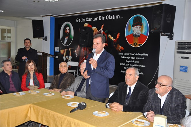 """CHP Adayı Vahap Seçer, """"Barışıyla, Huzuruyla, Refahıyla Örnek Bir Kent Yaratmak İstiyorum"""""""