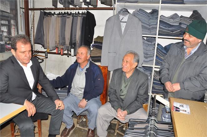 Mersin Büyükşehir Adayı Vahap Seçer, Tarsus'ta Esnafla ve Emekçilerle Buluştu