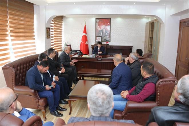 Erdemli Belediye Başkanı Mükerrem Tollu, Kurum Ziyaretlerine Devam Ediyor