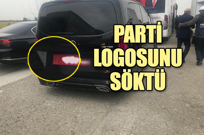 CHP Mersin Büyükşehir Başkan Adayı, Seçim Gezisi Yaptığı Araçtaki Parti Logosunu Söktü İddiası