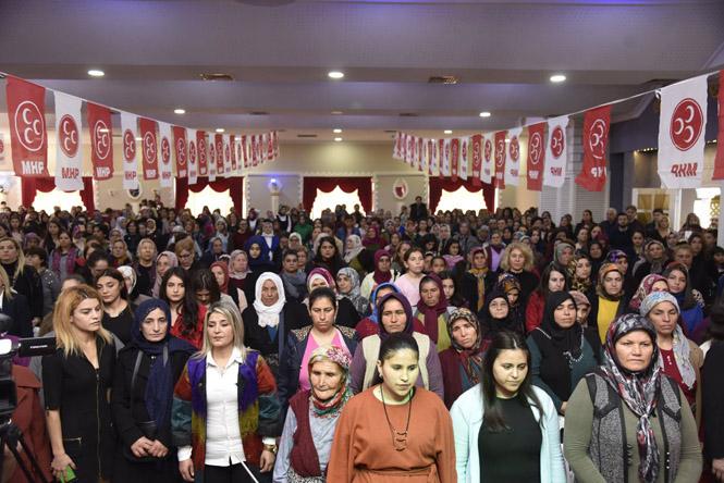 """Cumhur İttifakı Mersin Adayı Başkan Hamit Tuna; """"Toroslar'da Gönüller Hazır, Kadınlarımız Hazır"""""""
