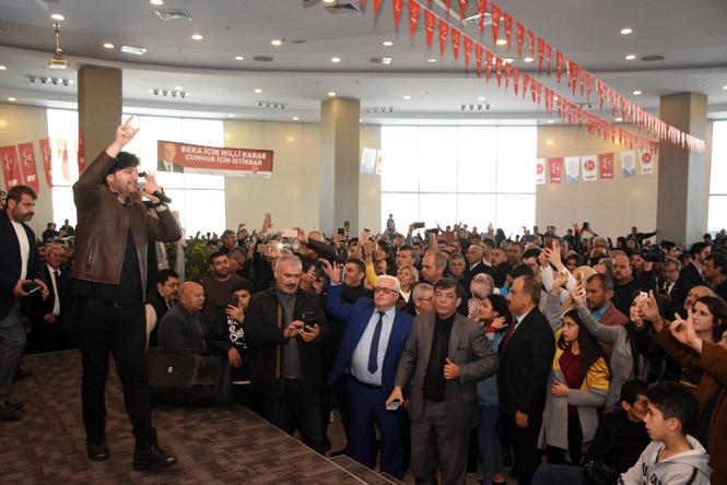 Cumhur İttifakı Adaylarına Salon Dar Geldi