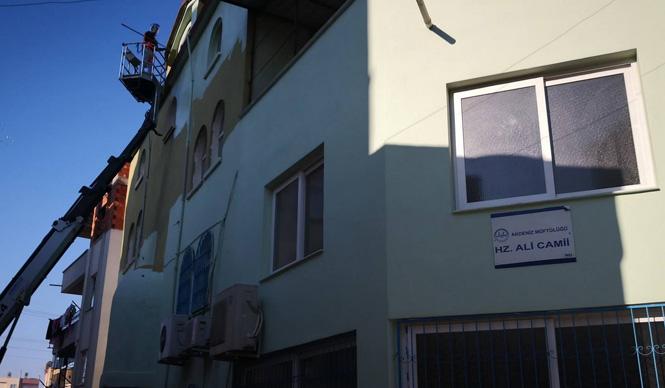 Akdeniz'de Okullara ve Camilere Temizlik ile Bakım Onarım Hizmetleri