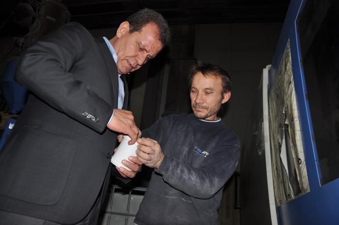 Büyükşehir Vahap Seçer ''Hizmet Yarışı Olsun''