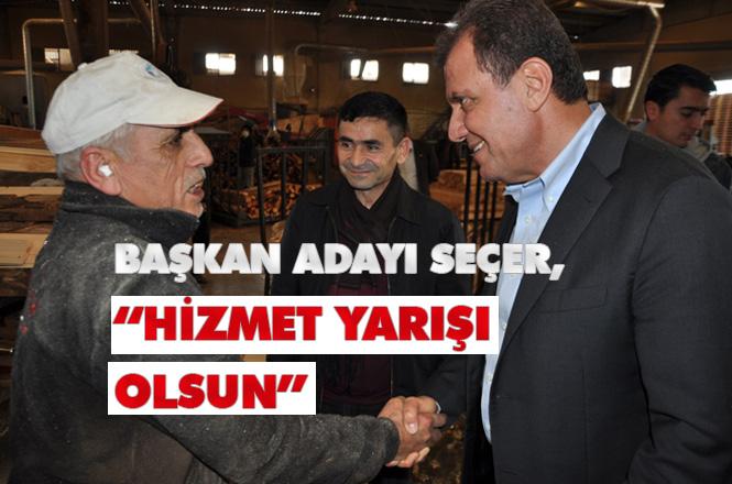 """Büyükşehir Vahap Seçer """"Hizmet Yarışı Olsun"""""""