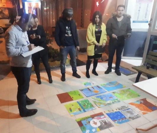 Mersin Sportif Amatör Balıkçılık, Denizcilik ve Doğal Hayatı Koruma Derneği'nden Resim Yarışması
