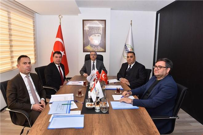 Tarsus Gıda İhtisas OSB Yönetim Kurulu ile Müteşebbis Heyeti Toplantısı Vali Su Başkanlığında Yapıldı