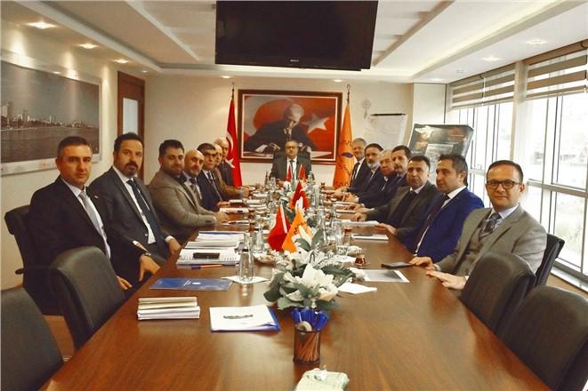 Vali Su Mersin-Tarsus OSB Müteşebbis Heyeti Toplantısı'na Başkanlık Etti
