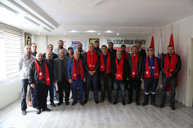 Mezitli Belediye Başkanı Tarhan'a Sivil Toplum Kuruluşlarından Destek