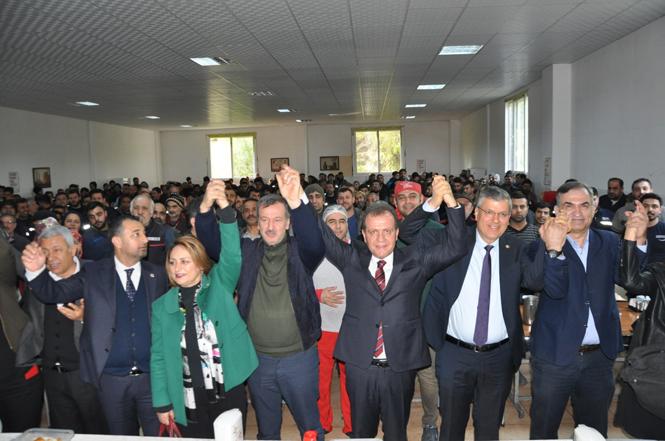4 Milletvekilinden CHP Mersin Büyükşehir Adayı Vahap Seçer'e Destek Ziyareti