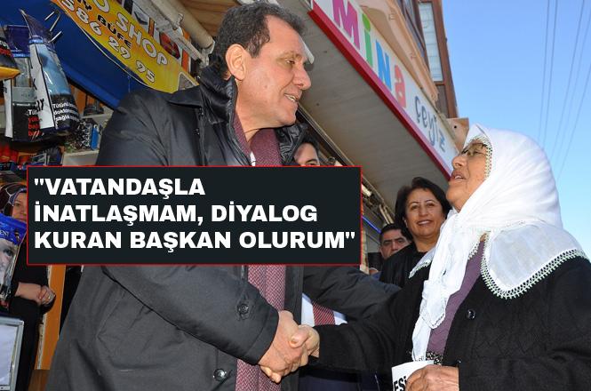 """CHP Mersin Büyükşehir Belediye Başkan Adayı Vahap Seçer, """"Vatandaşla İnatlaşmam, Diyalog Kuran Başkan Olurum"""""""