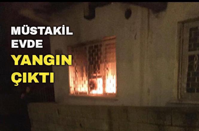 Mersin Tarsus Yeni Mahalle'deki Bir Evde Akşam Saatlerinde Yangın Çıktı