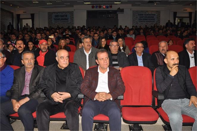 """CHP Mersin Başkan Adayı Vahap Seçer """"Mersin'in Sosyal Barışına Yakışacak Belediye Başkanına İhtiyaç Var"""""""
