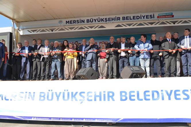 Mersin Büyükşehir Belediye Başkanı Burhanettin Kocamaz, ''Bu Tesis Tarsusluların Yüzünü Güldürecek''