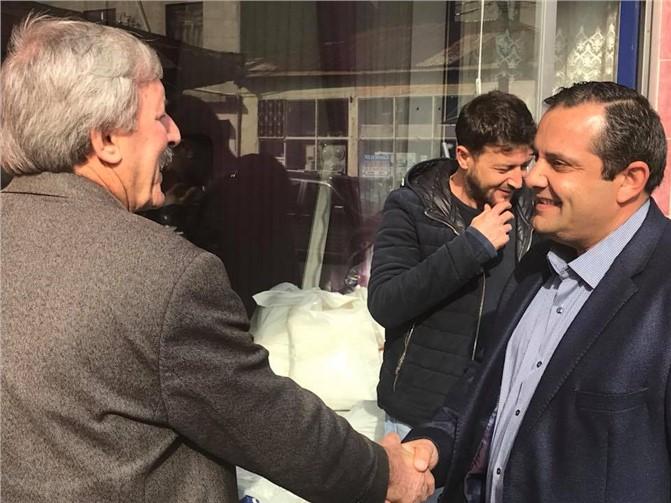 AK Parti Mut İlçe Başkanlığına Soner Solak Getirildi