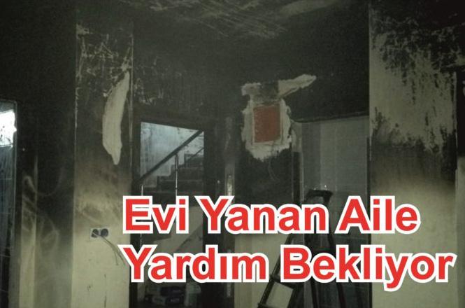 Mersin Erdemli Çeşmeli Mahallesinde Fırtınalı Akşam Yangının Çıktığı Evin Sahibi Yardım Bekliyor