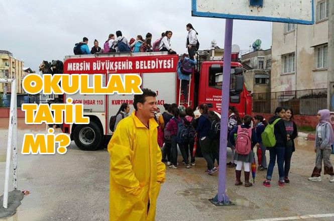 7 Şubat Perşembe; Mersin'de Okullar Tatil mi? Tarsus'ta Okullar Tatil Mi? Silifke'de Okullar Tatil Mi?