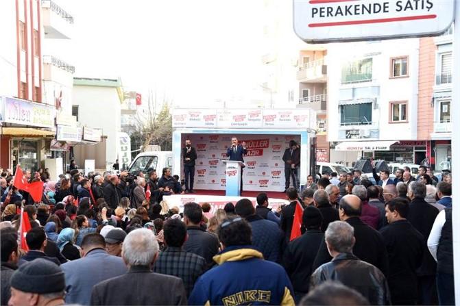 """Başkan Tuna: """"Genel İktidarın Yatırımları İle Yerel İktidarın Yatırımlarını Birleştirip Hizmeti Mersin'e Yansıtacağız"""""""